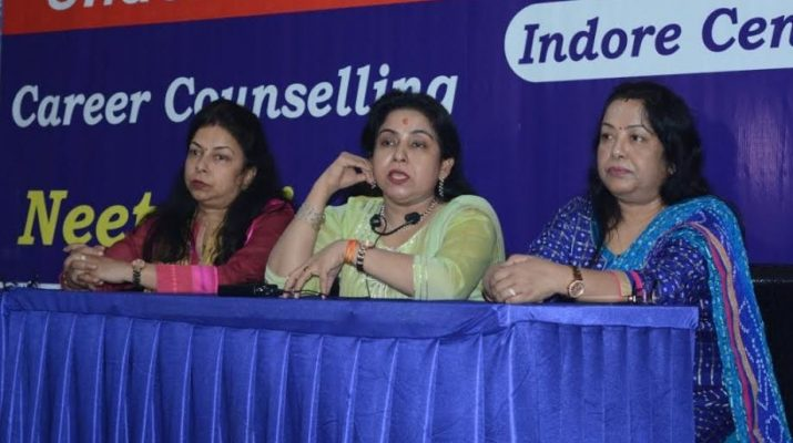 Neetu Singh Director KD Campus during Indore Launch