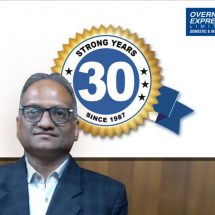 Overnite Express Ltd. celebrates 30 successful years of its Domestic & International Operations