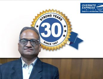 O P Rajgarhia - Chairman and Managing Director - OVERNITE EXPRESS LTD