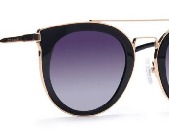 Osse Black Polarized Cateye Sunglasses for Women Rs 9949
