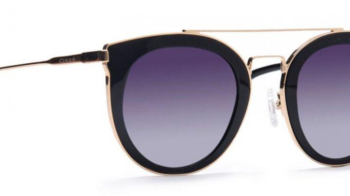 Osse Black Polarized Cateye Sunglasses for Women Rs 9949