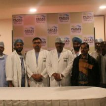 Paras Hospitals, Gurgaon, Helps a Patient Replace Coronary Arteries