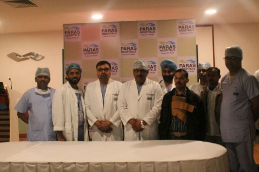 Paras Hospitals - Gurgaon - Helps a Patient Replace Coronary Arteries 2