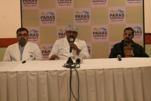 Paras Hospitals - Gurgaon - Helps a Patient Replace Coronary Arteries 3