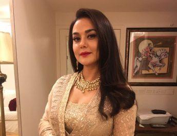 Preity Zinta in Minawala Jewellery