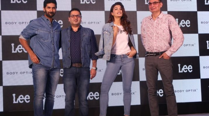 Purab Kohli - Sharad Wali - LEE India GM - Jacqueline Fernandes and Mr Steve Zades - VP of VFC