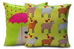 Quirky cushion covers from Welhome 2