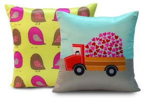 Quirky cushion covers from Welhome 6