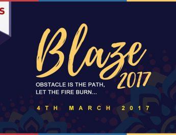 SRMS IBS and SRMS CET Joint Fest - BLAZE 2017