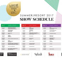 Lakmé Fashion Week Summer Resort 2017 Curtain Raiser
