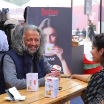 Typhoo's assortment of specialty Teas at India Art Fair 2017