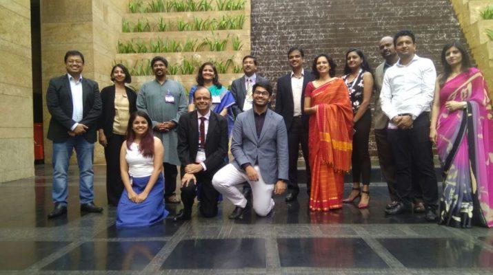 Sanjay Podder - Ganesh Natarajan - NSIF winners - Shrikant sinha - Deepa Nataraj - Mphasis