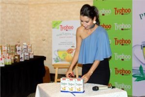 Shalini Chopra- Unveiling Lemon and Honey Green tea variant