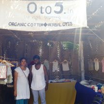 Organic textiles, herbal dyes and natural locally sourced products add depth to offerings at See Sharp Fest
