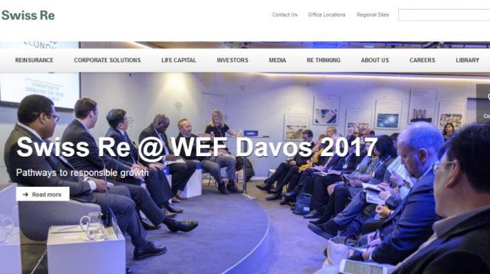 Swiss Re - Website - Homepage