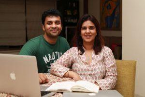 Syybol Founders - Ashraf Sayed and Manisha Kapoor
