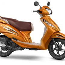 TVS Motor Company introduces 2 new, exciting colours for TVS WEGO