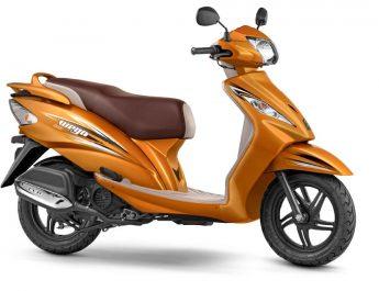 TVS Wego - Metallic Orange