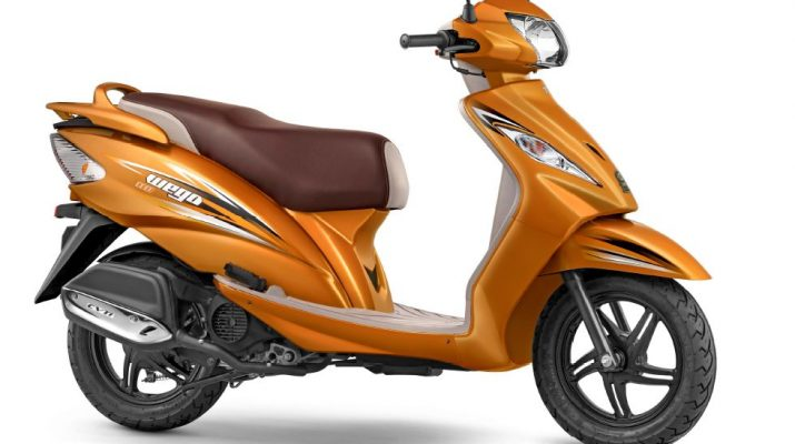 TVS Wego - Metallic Orange