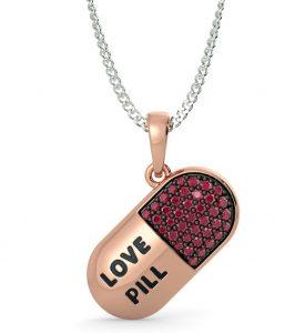 The Love Pill Pendant - BlueStone_13552 INR