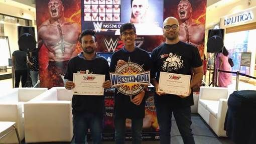 The winner Manan Sanghvi makes his way to WWE WrestleMania finals at Orlando