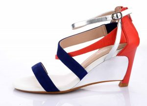 Tied Up - Women Shoes Collection - ankle strap heels from WOODS - 8