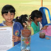 Trio students show their innovation at Science week