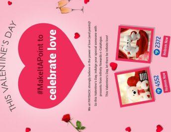Valentine Day Banner - PAYBACK