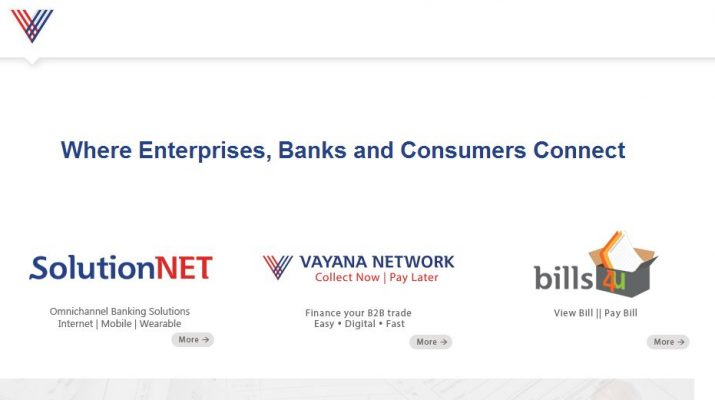 Vayana - Website - Home Page