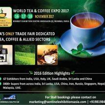 Global Expo on Tea & Coffee at Mumbai INDIA