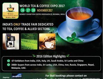 World Tea Coffee Expo Mumbai India Dates
