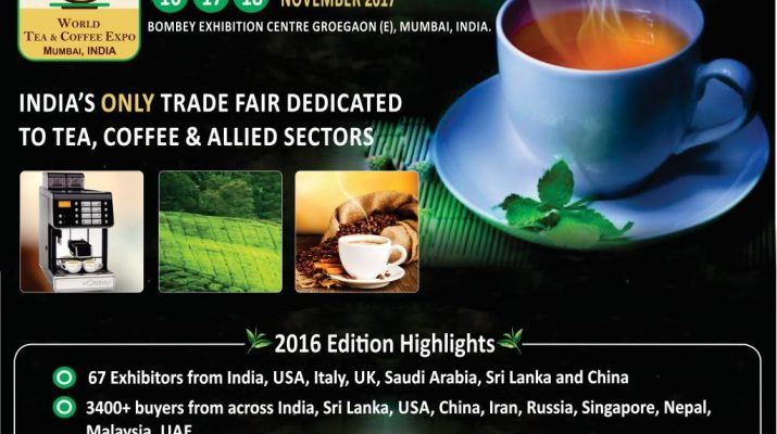 World Tea Coffee Expo Mumbai India Dates
