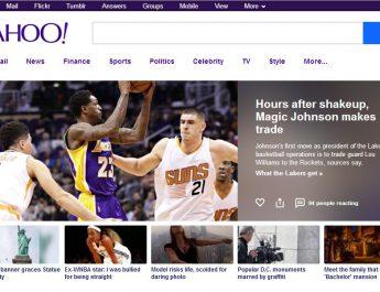 Yahoo - Home Page