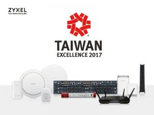 Zyxel wins Taiwan Excellence Awards for 12 consecutive years