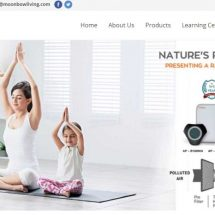 Moonbow Introduces Air Purifier with PM 2.5 Indicator And Air Quality Monitor
