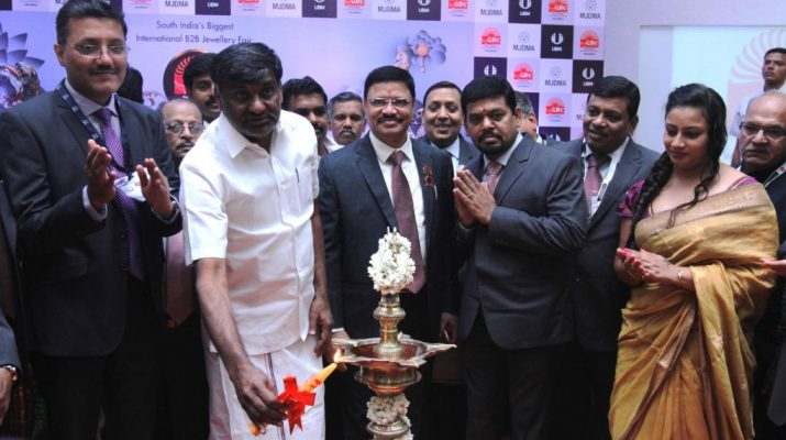 13th edition of Gem and Jewellery India International Exhibition - Chennai Trade Centre
