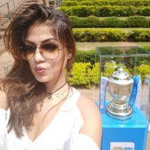VIVOIPL 2017 Trophy Tour mesmerizes the city of Bhubaneswar