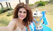 VIVO IPL 2017 Trophy Tour makes a successful debut in Chennai with actress Shraddha Das
