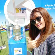 VIVO IPL 2017 Trophy Tour raises the cricket fever in Ranchi – Actress Surveen Chawla charms the visitors