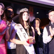 Actress Urvashi Rautela and film director Madhur Bhandarkar judge Mr and Miss India 2017