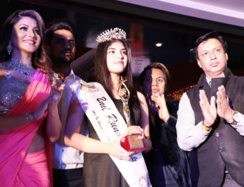 Actress Urvashi Rautela and film director Madhur Bhandarkar - Mr and Miss India 2017