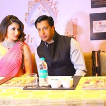 Actress Urvashi Rautela spotted wearing SLG Jewellery