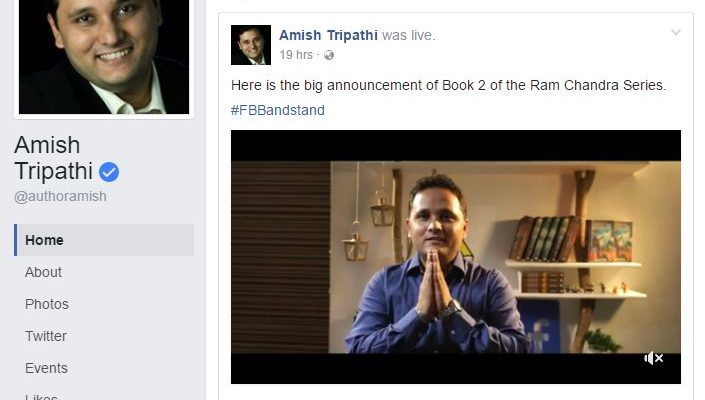Amishs Book 2 of the Ram Chandra series to release in May-June 2