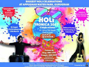 Appu Ghar - Holi event