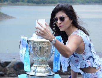 Archana Vijaya - Chandigarh with VIVOIPL Trophy Tour 2