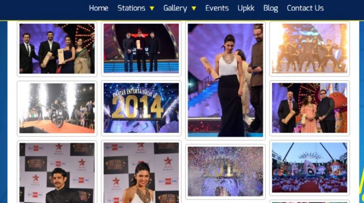 BIG FM - Website - Gallery