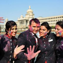 BRITISH AIRWAYS CELEBRATES THE COLOURFUL FESTIVAL OF HOLI!