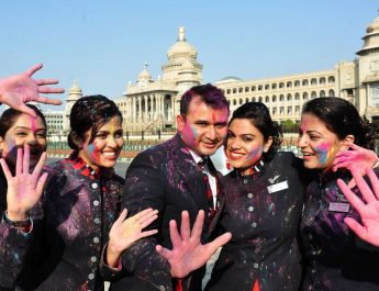 BRITISH AIRWAYS CELEBRATES THE COLOURFUL FESTIVAL OF HOLI - Bengaluru
