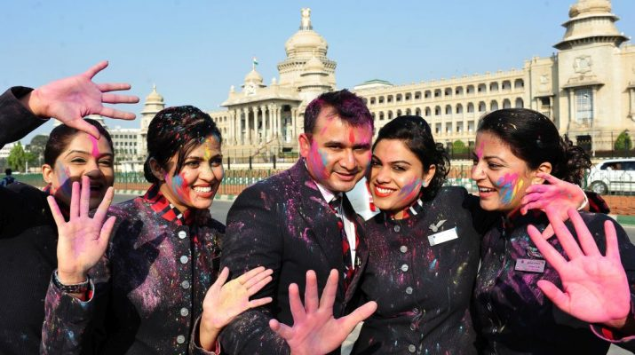 BRITISH AIRWAYS CELEBRATES THE COLOURFUL FESTIVAL OF HOLI - Bengaluru