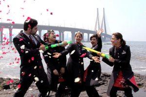 BRITISH AIRWAYS CELEBRATES THE COLOURFUL FESTIVAL OF HOLI - Mumbai